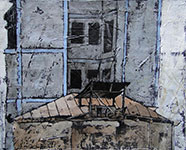 Old and New, 2011 - Mixed media on canvas, 31*26 cm